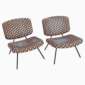 CM190 Chairs by Pierre Paulin for Thonet, 1960s, Set of 2