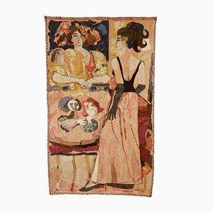 Dutch De Loge Wall Tapestry by Leslie Gabriëlse, 1965