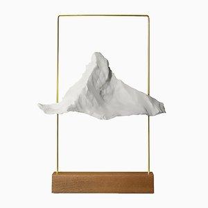 Matterlight Table Lamp in Brass & Ash by Boris Dennler