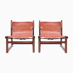 Danish Hunting Chairs, 1950s, Set of 2
