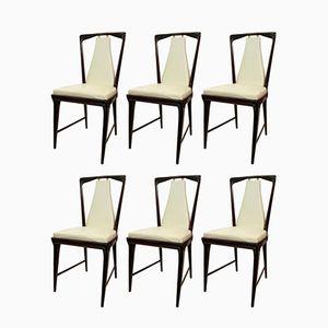 Chairs by Osvaldo Borsani, 1950s, Set of 6