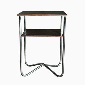 Tall Vintage Bauhaus Style Console Table