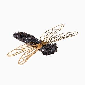 Broche Crystal Dragonfly par Isaac Monté