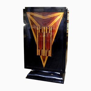 Vintage English Art Deco Bar
