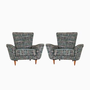 Mid-Century Lounge Chairs by Theo Ruth for Artifort, 1950s, Set of 2