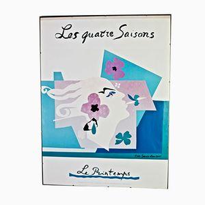 Affiche Yves Saint Laurent, 1983
