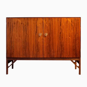 Vintage Danish Palisander Sideboard with 2 Doors by Børge Mogensen for FDB