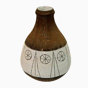 Vaso in ceramica di Rolf Hansen per Kongsberg Keramikk, Norvegia, anni '50