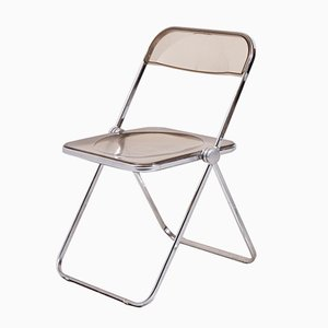 Vintage Plia Folding Chair by Giancarlo Piretti for Castelli