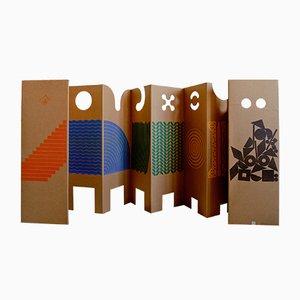 Il posto dei giochi Wandschirm von Enzo Mari für Danese Milano, 1967