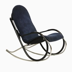 Vintage Nonna Rocking Chair by Paul Tuttle for Strässle