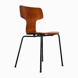 Modell 3103 Hammer Stuhl von Arne Jacobsen für Fritz Hansen, 1960er