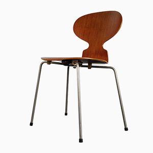 Vintage Modell 3100 Ant Stuhl von Arne Jacobsen für Fritz Hansen