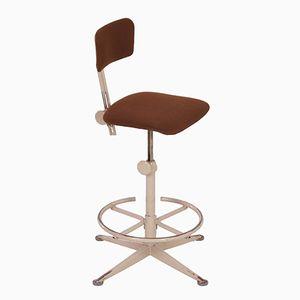Chaise de Travail Industrielle par Friso Kramer pour Ahrend de Circle, 1960s