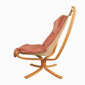 Falcon Chair by Sigurd Resell for Vatne Møbler, 1970s
