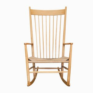 J16 Rocking Chair by Hans J. Wegner for Fredericia, 1960s