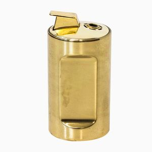 Brass Table Lighter by Pierre Forssell for Skultuna, 1960s