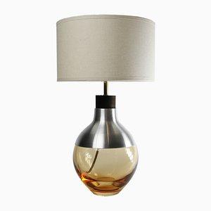 Pfirsichfarbene M2 Museum Lampe aus Aluminium von Utopia & Utility