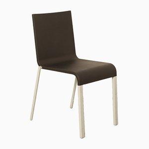 Schwarzer Modell 03 Stuhl von Maarten van Severen für Vitra, 2005