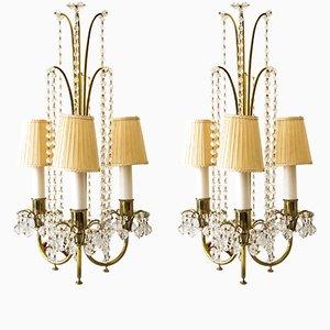Tischlampen von J. & L. Lobmeyr, 1950er, 2er Set
