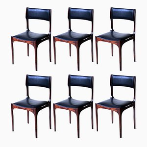 Chairs by Giuseppe Gibelli for Sormani, 1960s, Set of 6