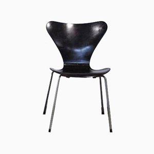 Vintage Butterfly Esszimmer Stuhl von Arne Jacobsen für Fritz Hansen