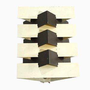 Geometrische Modell 7092 Wandlampe von J.J.M. Hoogervorst für Anvia, 1960er