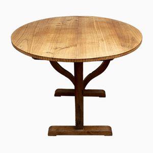 Burgundy Harvest Table, 1850s