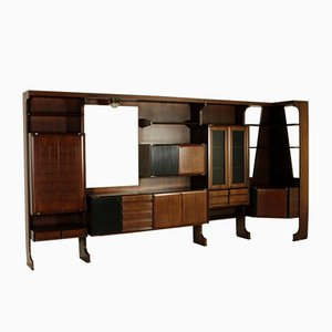 Living Room Wardrobe in Rosewood Veneer, 1960s