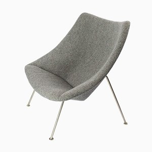 Large Vintage Oyster F157 Chair by Pierre Paulin for Artifort