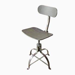chaise bienaise vintage industrielle avec hauteur r glable en vente sur pamono. Black Bedroom Furniture Sets. Home Design Ideas