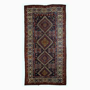 Antique Handmade Caucasian Shirvan Rug, 1890s