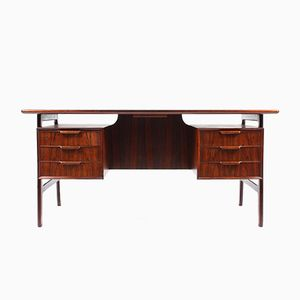 Mid-Century Rosewood Desk by Omann Jun, 1950s