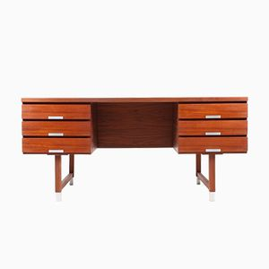 Teak Desk by Kai Kristiansen, 1950s