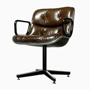 Chaise de Bureau par Charles Pollock pour Knoll International, 1960s