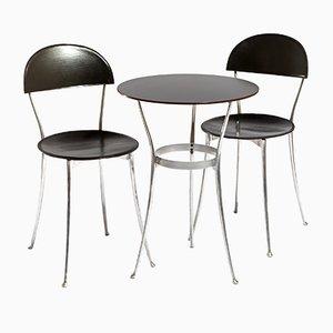 Tonietta Table & Chair Set by Enzo Mari for Zanotta, 1980s
