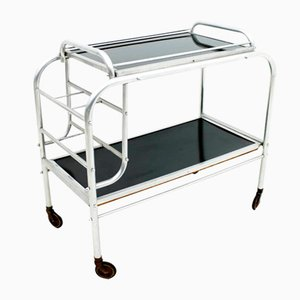 French Art Deco Bar Cart, 1930s