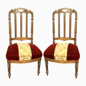 Chaises Napoleon III Antiques, Set de 2