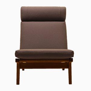 GE375 Oak Lounge Chair by Hans J. Wegner for Getama, 1960s