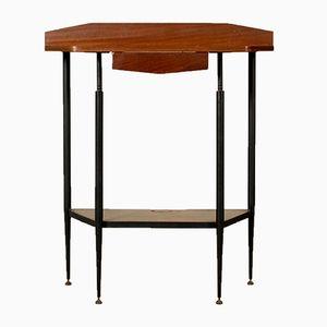 Vintage Italian Mahogany Console Table
