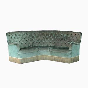 Vintage Green Sofa by Osvaldo Borsani for Atelier Borsani Varedo