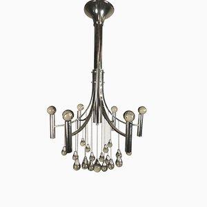 Italienischer Kronleuchter Mit 6 Lampen Von Gaetano Sciolari, 1960er