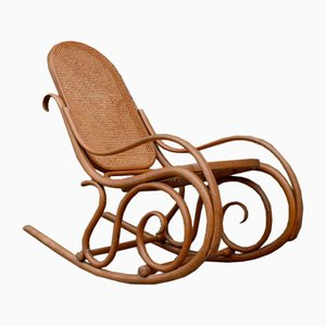 Antique Rocking Chair from Thonet, 1908