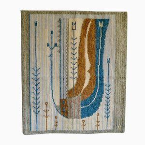 Vintage Scandinavian Woollen Wall Hanging