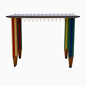 Multicolored Table by Pierre Sala, 1983