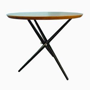 Swiss Tripod Side Table by Hans Bellmann for Knoll, 1950s