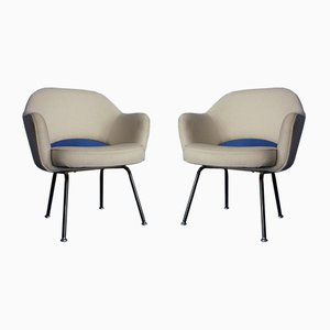 Konferenzstühle von Eero Saarinen für Knoll International, 1950er, 2er Set