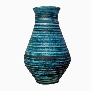 French Ceramic Vase by Accolay, 1960s