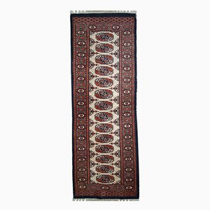 Handgefertigter Usbekischer Vintage Bukhara Teppich, 1960er