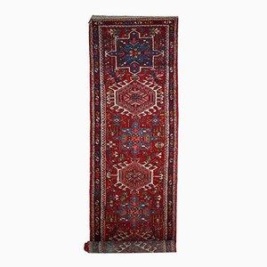 Antiker Handgeknüpfter Persischer Karajeh Läufer, 1920er